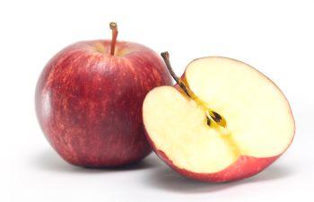 a whole apple and half an apple